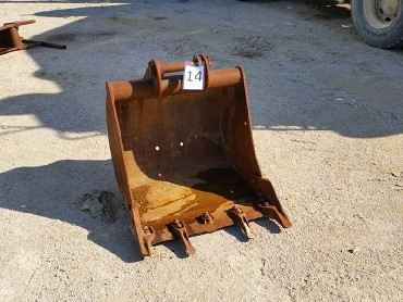 14-Bucket for Backhoeloader JCB3CX/4CX/mini excavator-740 mm