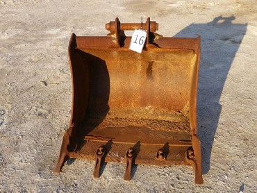 16-Bucket for Backhoe loader JCB 3CX/4CX/mini excavator-900 mm