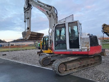 Mini excavator JCB 8065 RTS, year 2009