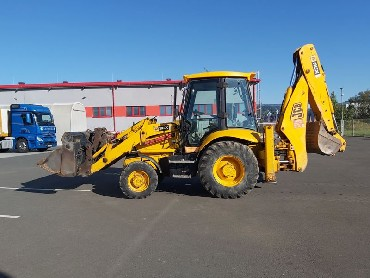 Backhoe loader JCB 1CX- year 2007